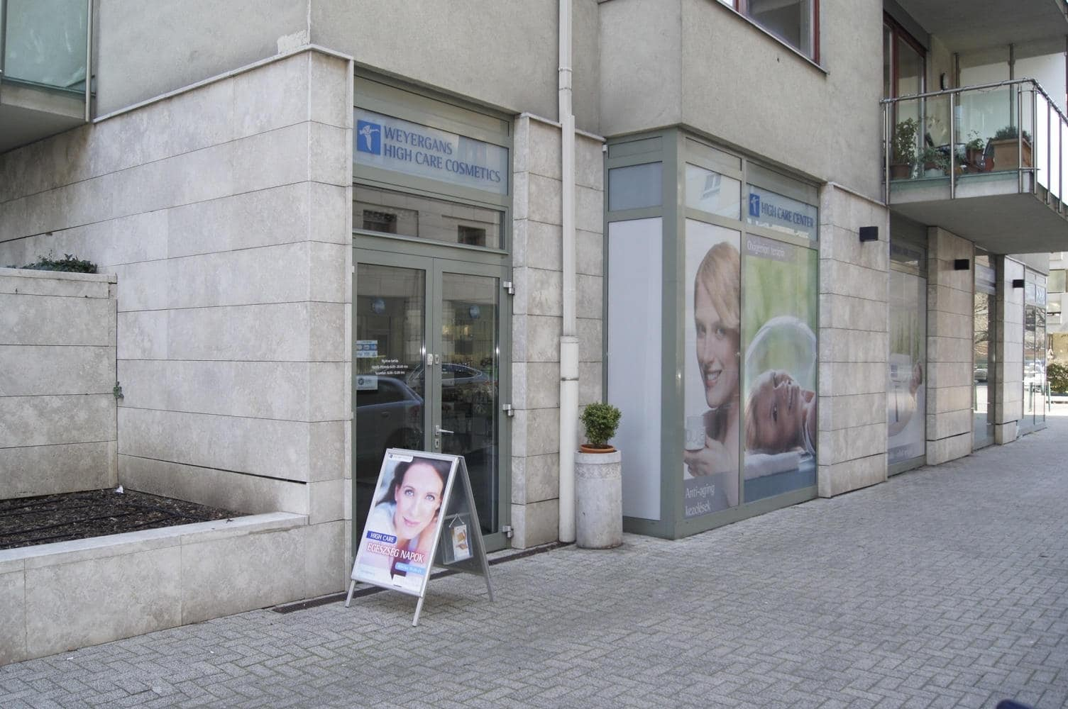 High Care weyergans kozmetika Budapest